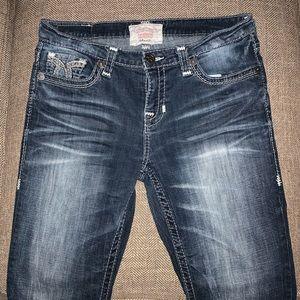 EUC Bg Star Maddie Boot Cut Jeans Size 30L.